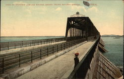 View of Victoria Jubilee Bridge, Grand Trunk Railway System