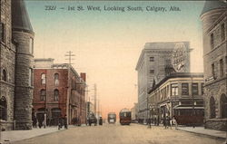 1st St. West, Looking South