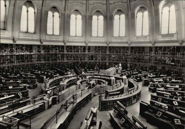 British Museum - The Reading Room London United Kingdom