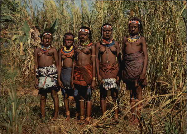 Native People Benguela Angola Africa