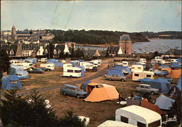 Camping Site near Solidar Tower Saint-Malo France