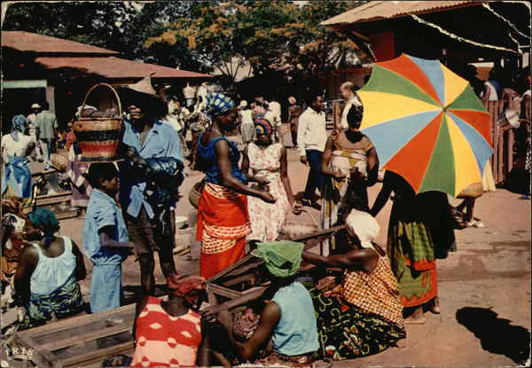 Africa in Pictures, African Market