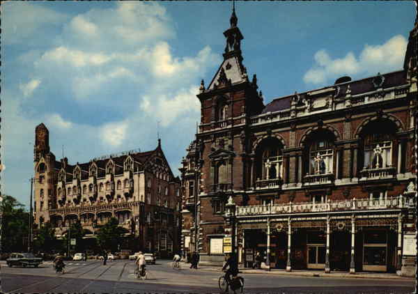 American Hotel and Municipal Theatre Amsterdam Netherlands