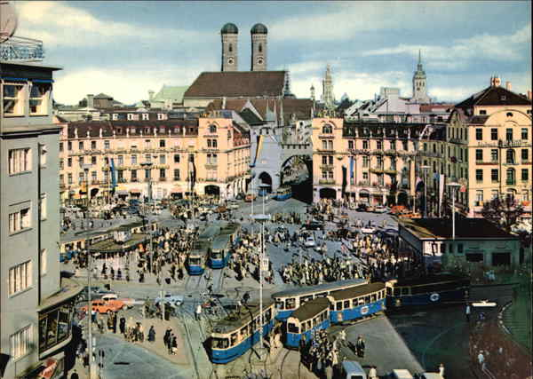 Karlsplatz (Stachus) Munich Germany