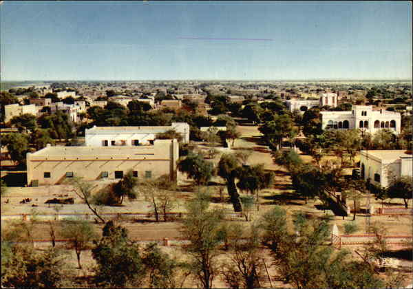 General View of Town and Countryside Mali Africa