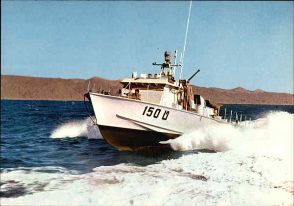 Israel's Navy Patrol Boat Bay of Eilat Middle East