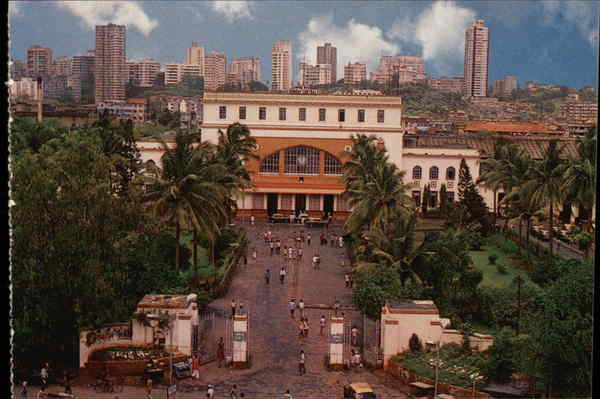 Bombay Central Station Mumbai India