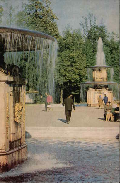 Roman Fountains Petergof Russia