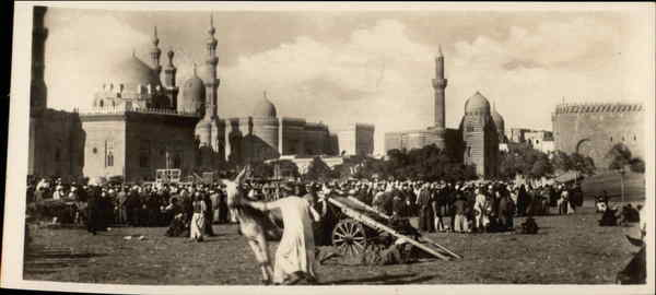 Native Market near the Sultan Hassan Mosque Cairo Egypt