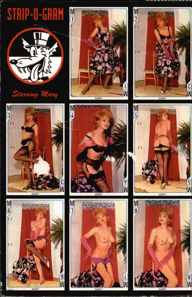 Strip-o-Gram Starring Mary Risque & Nude