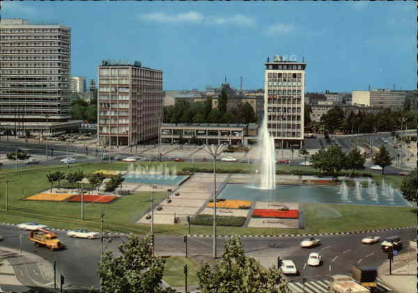 Ernst Reuter Platz Berlin Germany