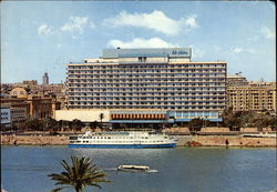 Nile Hilton Hotel and the Isis Floating Hotel