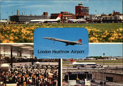 Heathrow Airport Postcard