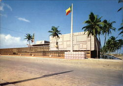 Palace of the Republic Postcard