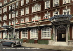 The Corinc Hotel, Grosvenor Gardens Postcard