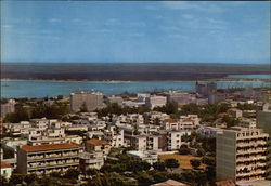 Partial View of the City and Bay Postcard