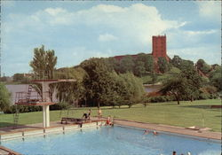 Koldinghus Castle and Swimming Pool