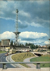 Broadcasting Tower Postcard