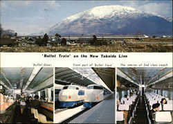 Bullet Train on the New Tohkaido Line