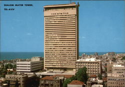 Shalom Mayer Tower Postcard