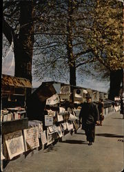 Bookstores along the Seine