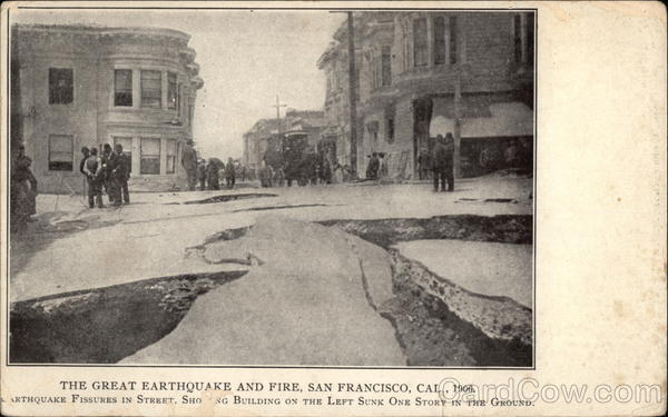 The Great Earthquake and Fire 1906 San Francisco California