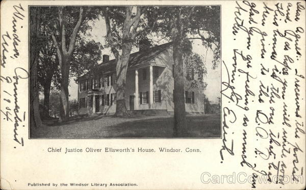 Chief Justice Oliver Ellsworth's House Windsor Connecticut