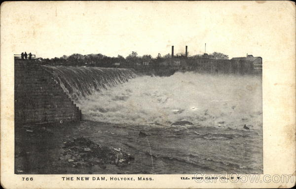The New Dam Holyoke Massachusetts