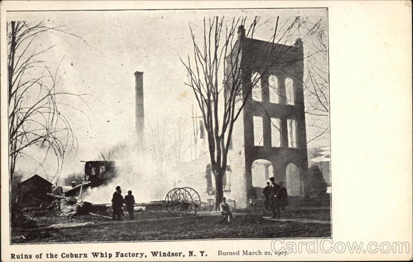 Ruins of the Coburn Whip Factory Windsor New York