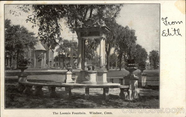 The Loomis Fountain Windsor Connecticut