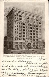 Security Mutual Life Insurance Building Postcard