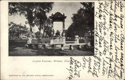 View of Loomis Fountain
