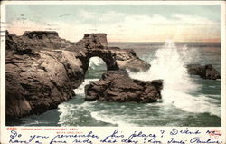 Crown Rock and Natural Arch