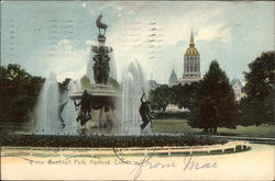 Fountain in Bushnell Park