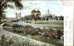 View on Bushnell Park