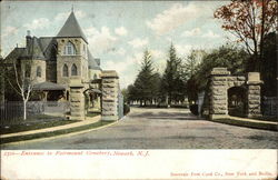 Entrance to Fairmount Cemetary
