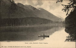 Cedar Lake, Seattle's Water Supply