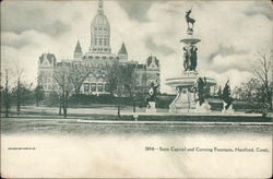 State Capitol and Corning Fountain