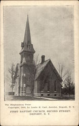 First Baptist Church, Second Street
