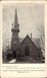 First Presbyterian Church, Second Street