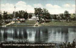 Washington Hall. - Susquehanna River, Built 1800