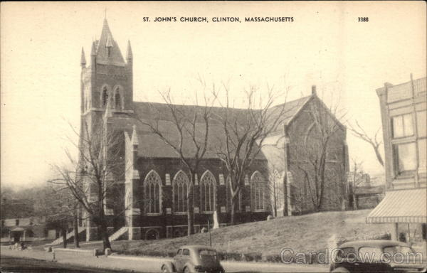 St. John's Church Clinton Massachusetts