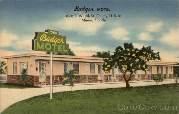 Badger Motel Miami Florida