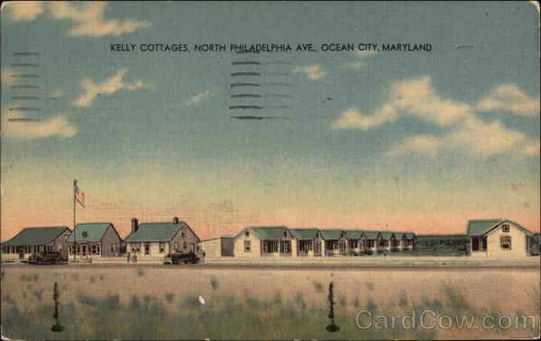 Kelly Cottages, North Philadelphia Ave Ocean City Maryland