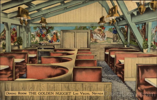 The Golden Nugget - Dining Room Las Vegas Nevada