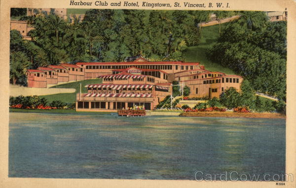 Harbour Club and Hotel St. Vincent British West Indies