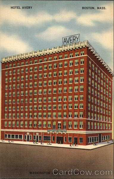 Hotel Avery Boston Massachusetts