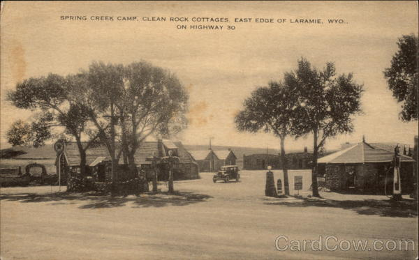 Spring Creek Camp Clean Rock Cottages East Edge Of Town
