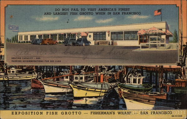 Exposition Fish Grotto - Fisherman's Wharf San Francisco California