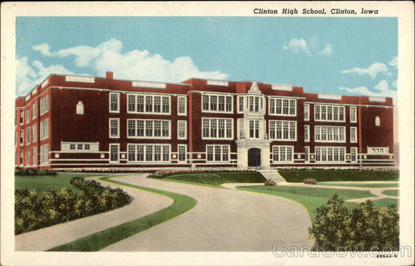 Clinton High School Iowa